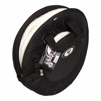 "Protection Racket 24"" Deluxe Cymbal Case - Black RRP £101.30 NOW £89"