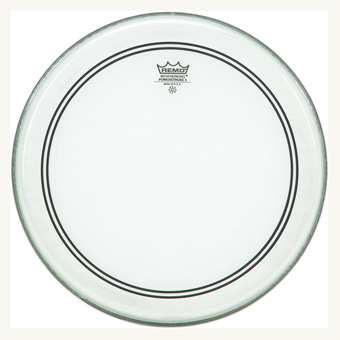 "Powerstroke 3 16"" Clear Bass Drum Head"