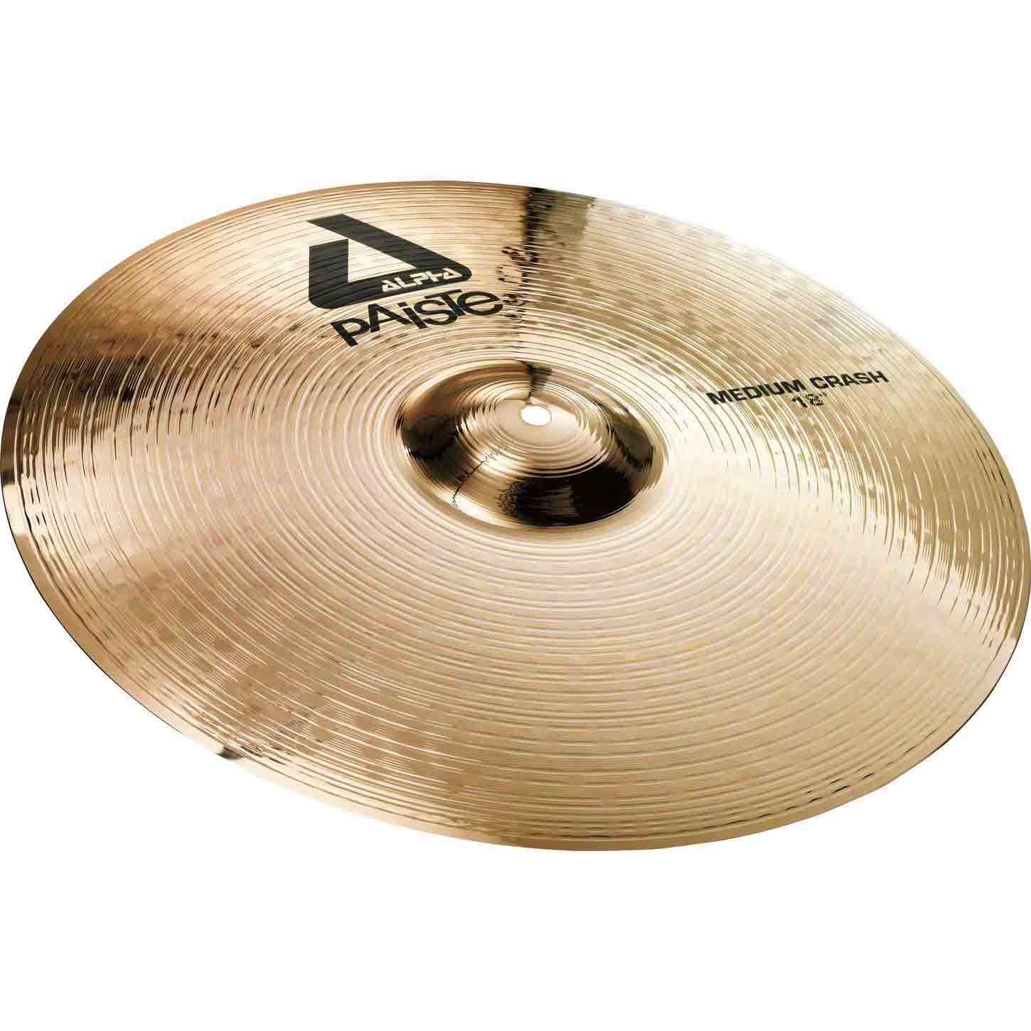"Alpha Brilliant Finish 16"" Crash"
