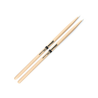 Hickory 5A Nylon Tipped Drum Sticks