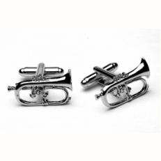 Flugel Horn Cufflinks
