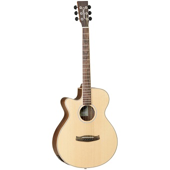 DBT SFCE BW LH Discovery Electro-Acoustic Guitar - Left Hand