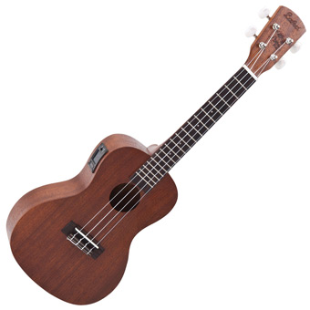 VUC50 Concert Acoustic Ukulele with Onboard Chromatic Tuner