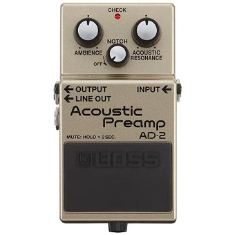 AD-2 Acoustic Preamp - Pedal