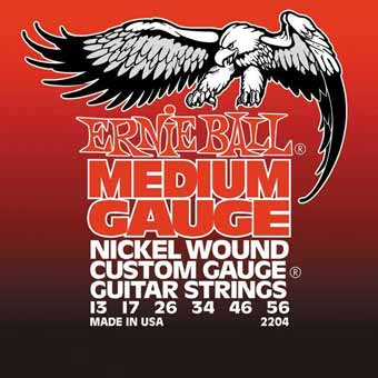 Medium Nickel Wound With Wound G Electric Guitar Strings 13-56