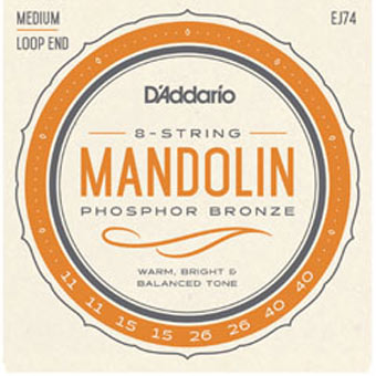 Phosphor Bronze Medium Mandolin Strings