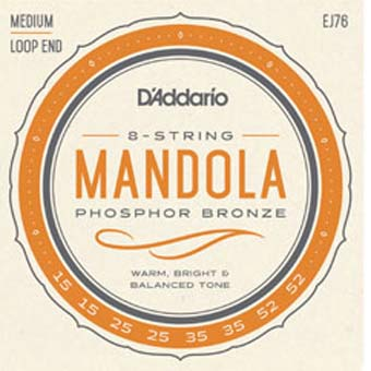 Phosphor Bronze Medium Mandola Strings