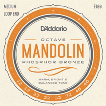 Phosphor Bronze EJ80 Octave Mandolin Strings