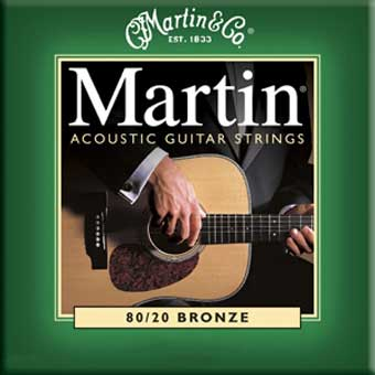 80/20 Bronze Acoustic Strings - Extra Light .010 - .047