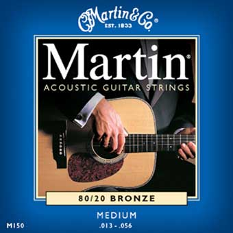 80/20 Bronze Acoustic Strings - Medium .013 - .056