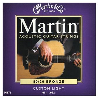 80/20 Bronze Acoustic Strings - Custom Light .011 - .052