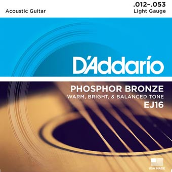 Phosphor Bronze Acoustic Strings - Light