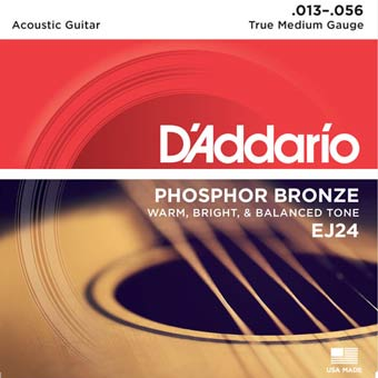 Phosphor Bronze Acoustic Strings - Medium