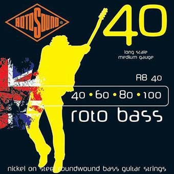 RB40 Hybrid Bass Strings