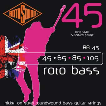 RB45 Regular Bass Strings