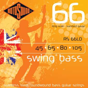 Rotosound RS66LD Swing Bass Strings- 45 - 105