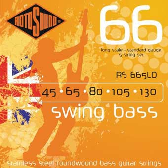 RS665LD Swing Bass Strings - 45 - 130