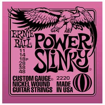 Power Slinky Electric Guitar Strings