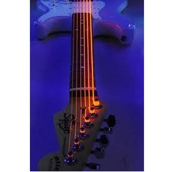 DR Hi-Def Electric Neon Orange Strings 9-42