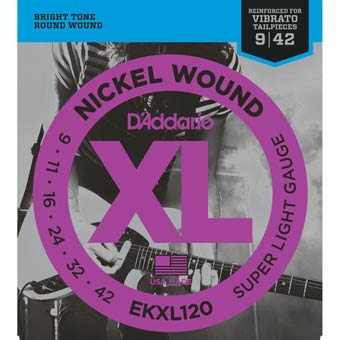 D'Addario EXL120 Strings - 9 - 42