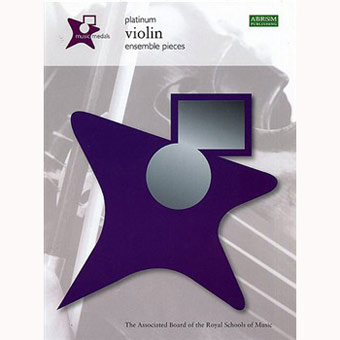 Music Medals Violin Ensemble Pieces - Platinum