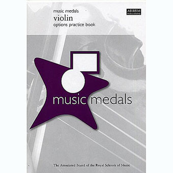 Music Medals - Violin Options Practice Book