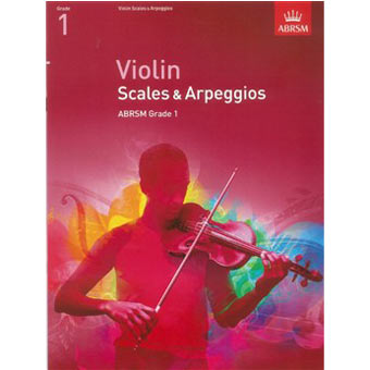 Violin Scales And Arpeggios - Grade 1 (From 2012)