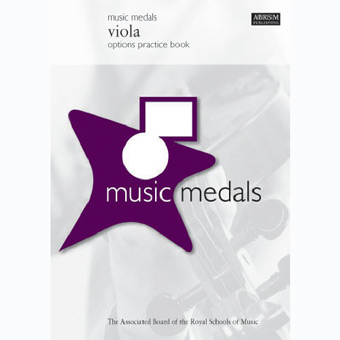 Music Medals Viola Options Practice Book