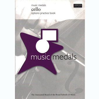 Music Medals - Cello Options Practice Book