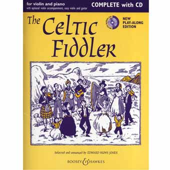 The Celtic Fiddler - Violin/Piano/CD