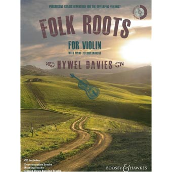 Folk Roots For Violin - Hywel Davies