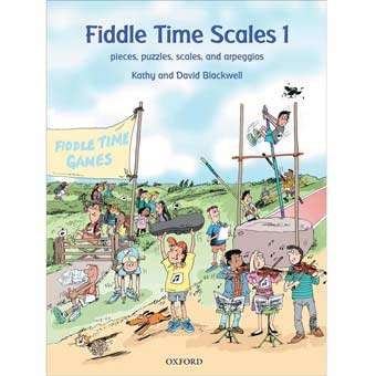 Fiddle Time Scales - Book 1