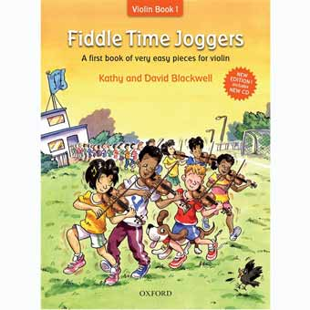 Fiddle Time Joggers For Violin + CD