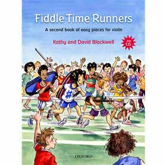 Fiddle Time Runners For Violin + CD