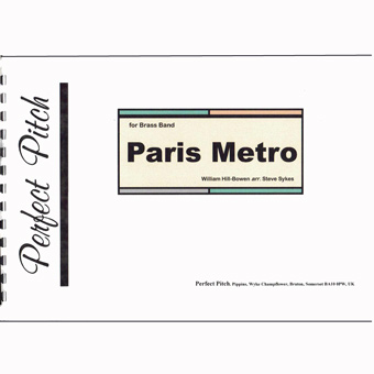 Paris Metro - William Hill-Bowen - Arr Steve Sykes
