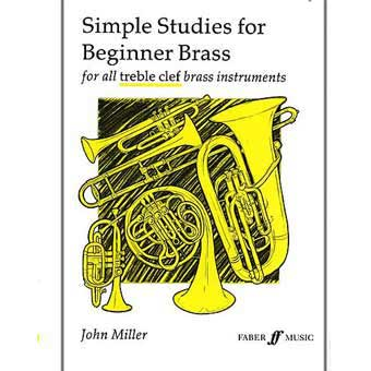 Simple Studies For Beginner Brass - John Miller