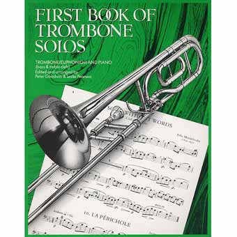 First Book Of Trombone Solos