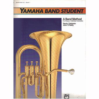 Yamaha Band Student - Baritone Horn - Bass Clef - Book 3 | Brass