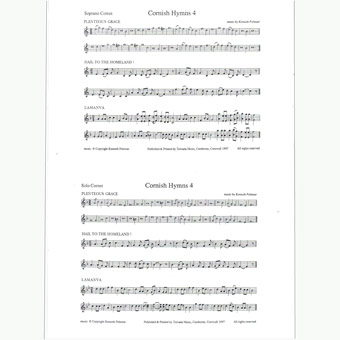Cornish Hymns - Set 4  - Kenneth Pelmear