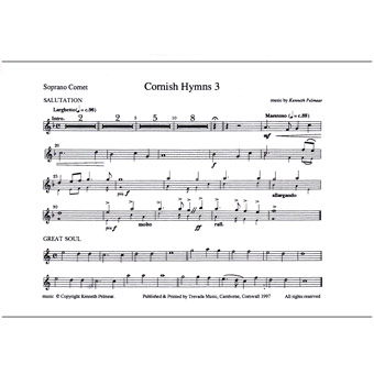 Cornish Hymns - Set 3 - Kenneth Pelmear