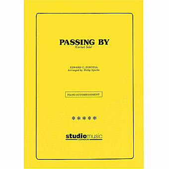 Passing By - Purcell - Arr Sparke - Cornet Solo With Piano Accompaniment