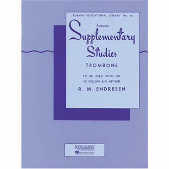 Supplementary Studies - Trombone - R.M. Endresen