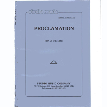 Proclamation - Bram Wiggins