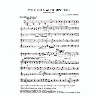 The Black & White Minstrels - Selection No.2 - Arr. Edrich Siebert