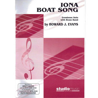 Iona Boat Song - Trombone Solo & Band - Howard J. Evans