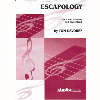 Escapology - Baritone Solo & Band - Tom Davoren