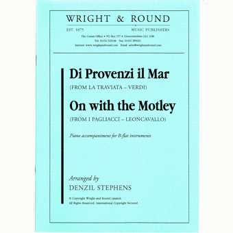Di Provenzi Il Mar / On With The Motley - Bb Instruments & Piano
