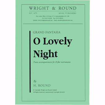 O Lovely Night - Bb Solo & Piano - Round