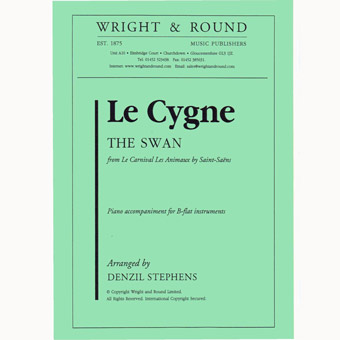 Le Cygne - The Swan - Bb Solo & Piano - Arr. Stephens