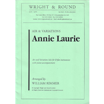 Annie Laurie - Rimmer - Solo For Bb Instruments + Piano Accompaniment